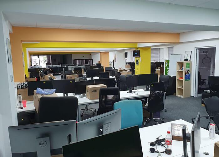 Cladire de birouri unde relocare a fost finalizata