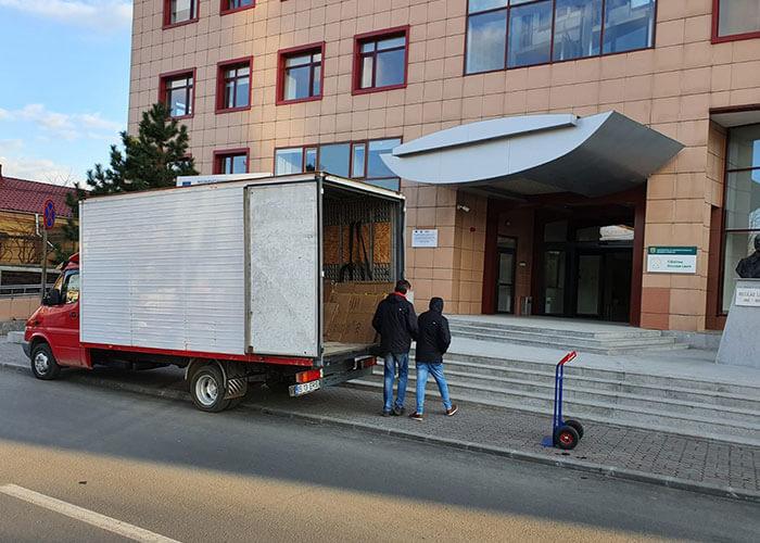 Relocare Cladirea Petre Andrei
